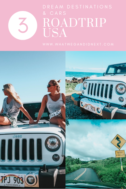 dream destinations to road trip usa