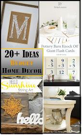 20+ ideas for budget friendly home decor