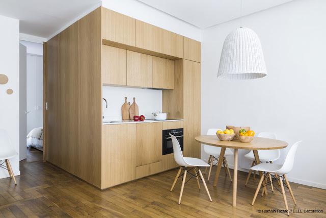 Функциональный интерьер небольшой квартиры от Margaux Beja