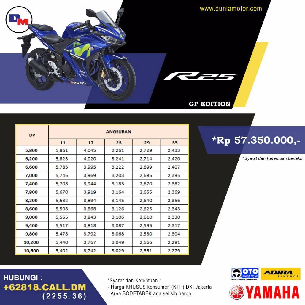 Beli Yamaha R25 dan New R15 V3 di Dunia Motor langsung dapat bonus Sena dan voucer diskon !