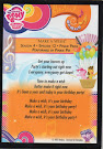 My Little Pony Make a Wish Series 3 Trading Card