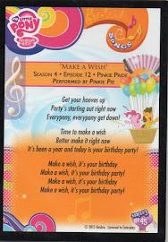 MLP Make a Wish Series 3 Trading Card