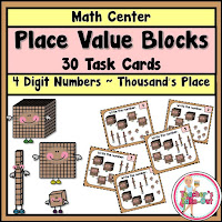 Place Value Blocks to Thousands place