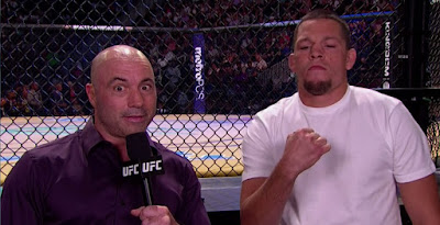 joe rogan nate diaz ufc 200