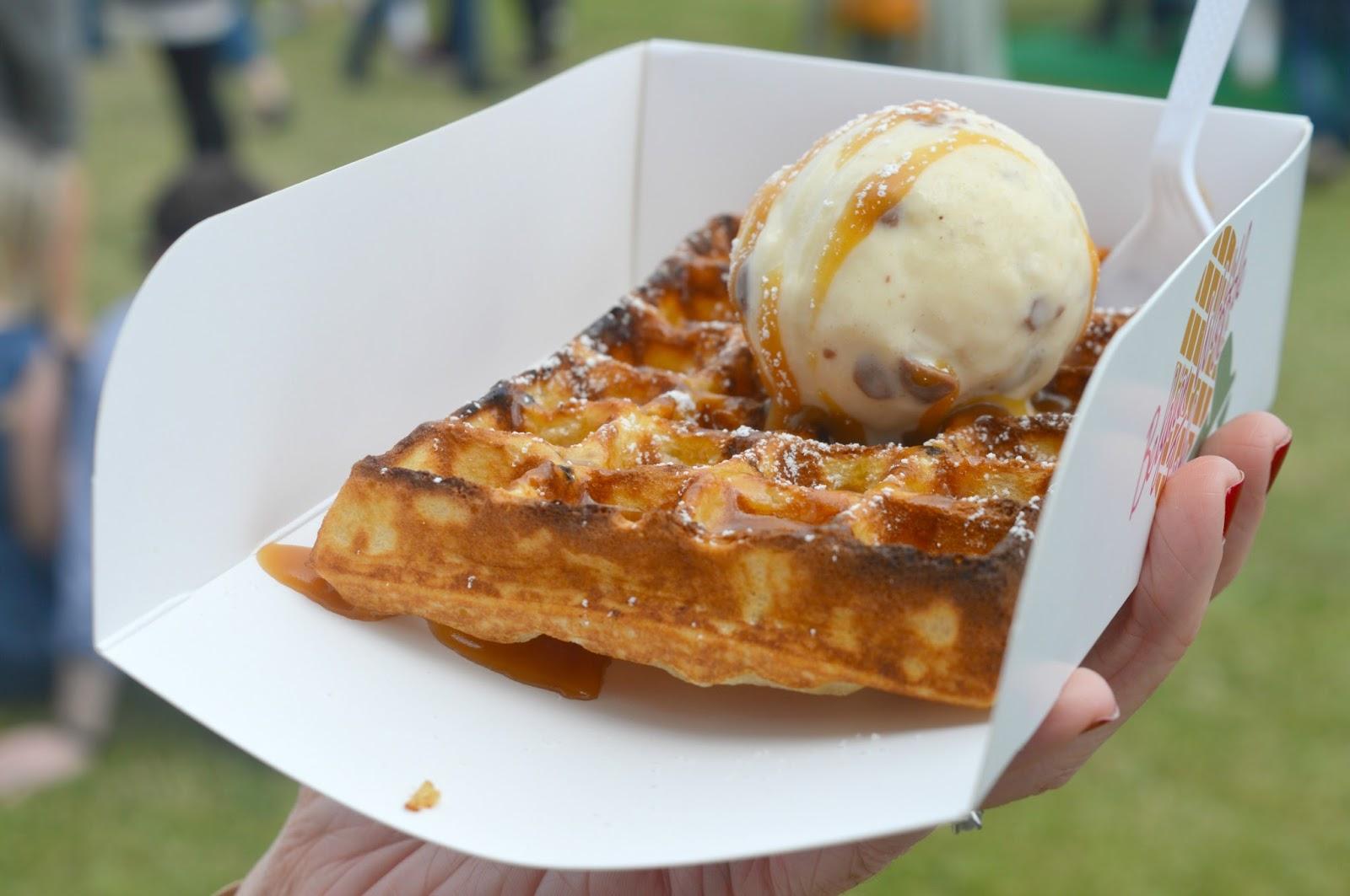 The Foodies Festival - Belgian Waffle Tuk