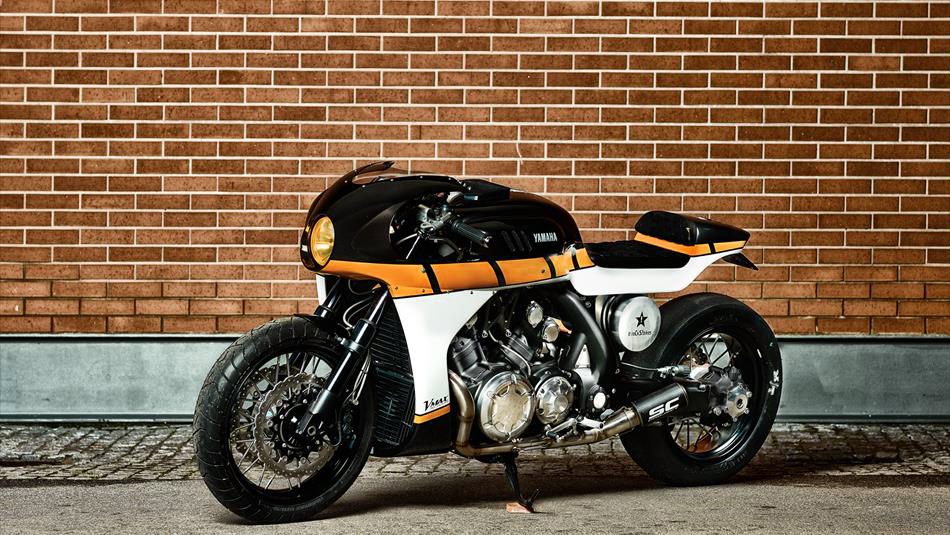 400 meter monster - vmax cs-07 gasoline ~ return of the cafe racers