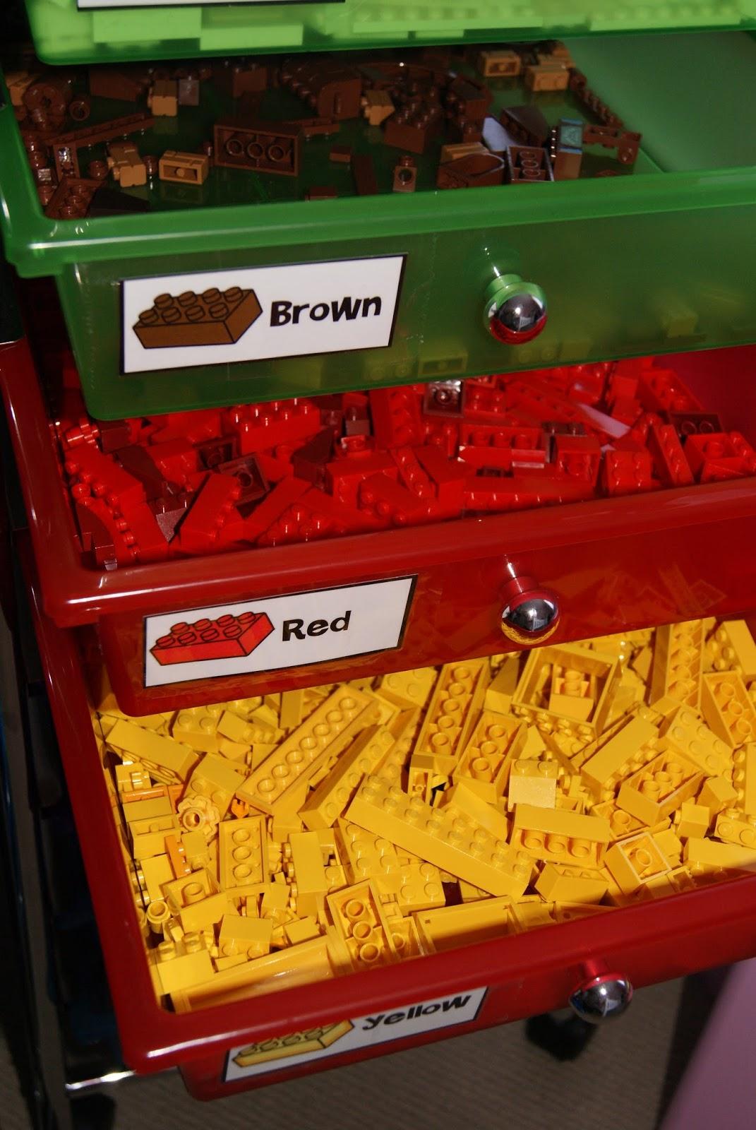 Lego Legos Storage From The Pond