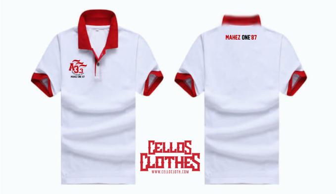 Bikin Baju Reuni dengan Bahan Lacoste – Wangki Polo Shirt Bordir Custom