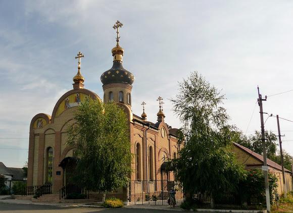Авдеевка. Свято-Михайловская церковь