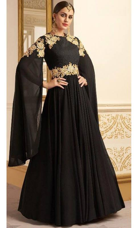 Party Wear Gown Style Anarkali Suits 2018 for Girls