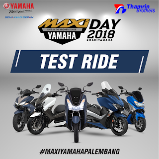 Test Ride Yamaha Palembang