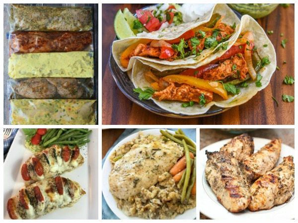 5 Boneless Skinless Chicken Breast Recipes