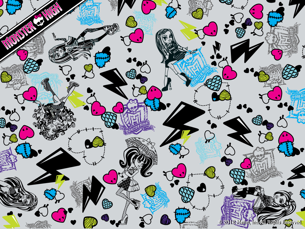 Fondos De Pantalla De Monster High: Monster High-Pretty : Nuevos Fondos De Monster High