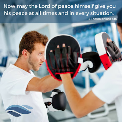 The Lord of peace himself give you His peace at all times and in every situation.