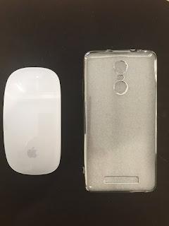 MyVlog Fotos - Luanke TPU Soft Protective Case for Xiaomi Redmi Note 3 Pro  -  SILVER