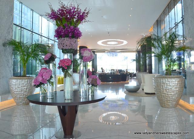 Marriott Al Forsan lobby