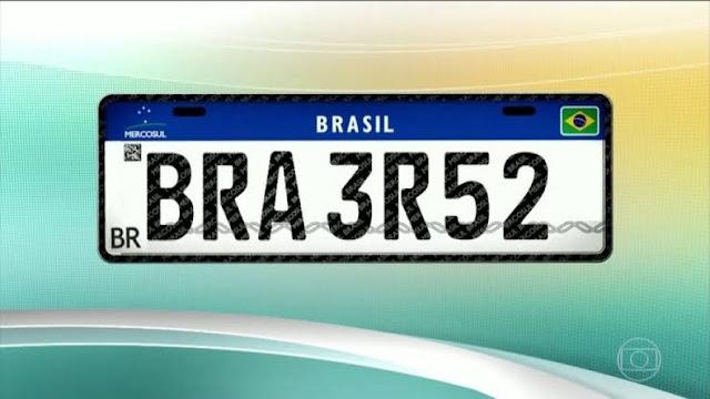 Por falta de fornecedores, Detran pede prorrogação do prazo para implantação da placa Mercosul na Bahia