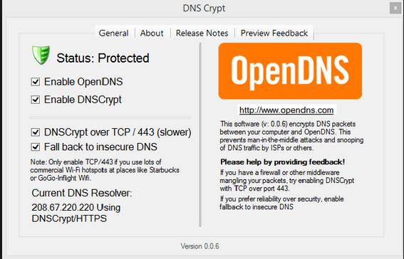 Aplikasi OpenDNS