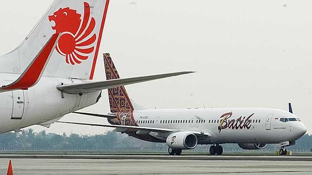 Padat Lalu Lintas Pesawat Lion Air Tujuan Jogja Kembali Ke Jakarta