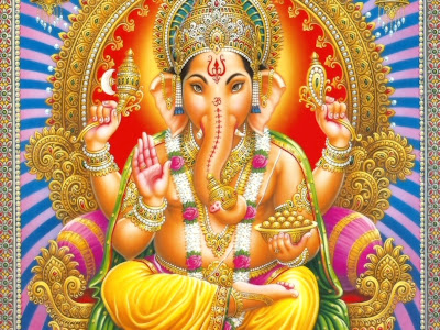 Sri Ganapathi or Ganesh Pictures free download