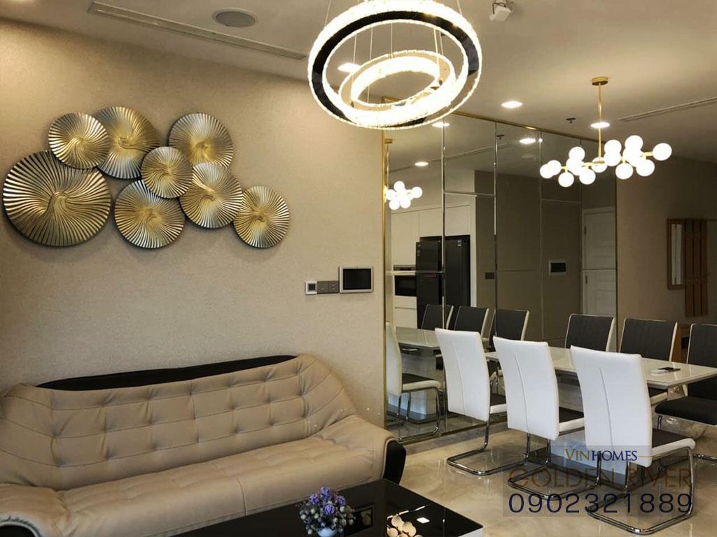 Cho thuê officetel 2 phòng ngủ Vinhomes Golden River Aqua 1 - hình 6