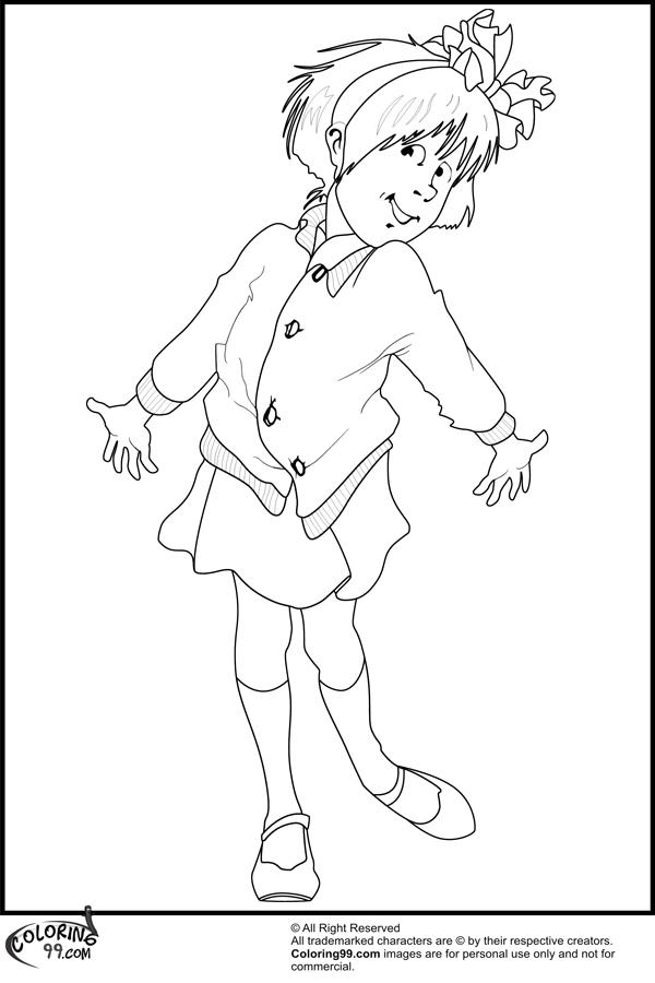 junie b jones coloring pages - photo #2