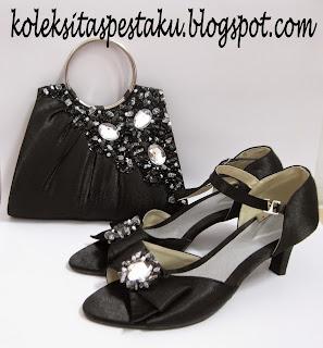 Pas Buat Hantaran Sepatu dan Clutch Bag Cantik