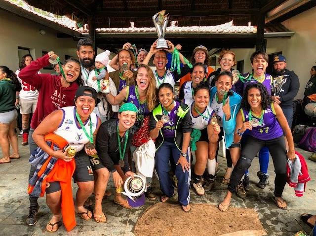 Conheça o Brasília Selvagens, time do DF que acumula conquistas no Flag Football