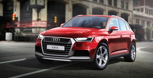 концептуальный рисунок нового Audi Q5