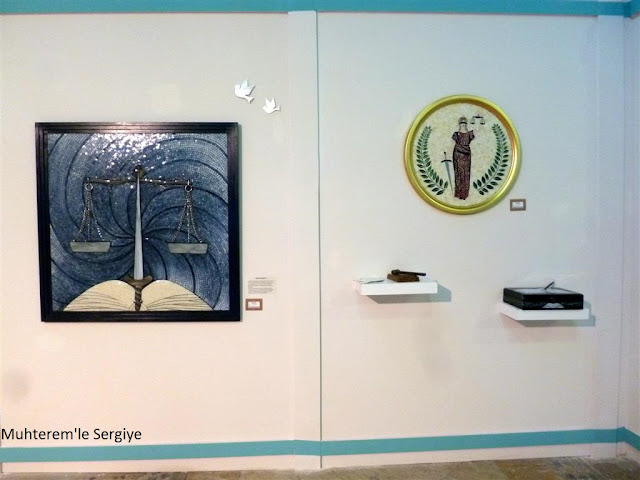 sanatsal mozaik sergisi