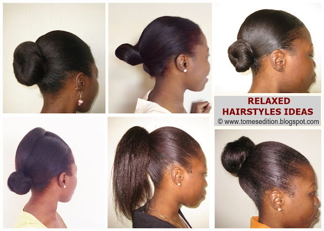 ways to style relaxed hair tomes edition favorite ways to style my relaxed hair 3854