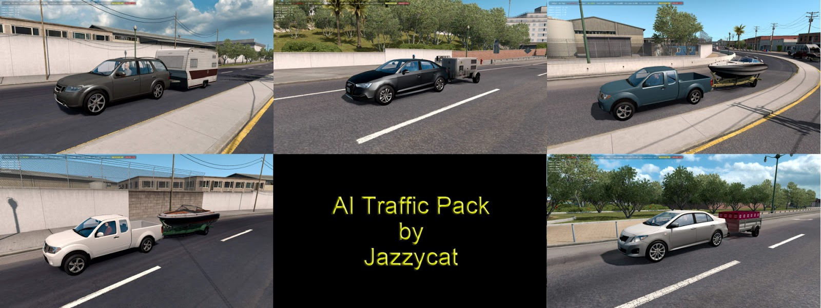 Sinagrit Baba's Workshop: ATS - AI Traffic Pack v6 0 by Jazzycat