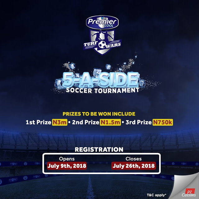 Win 3 Million Naira in Premier Cool Turf Wars Competition.