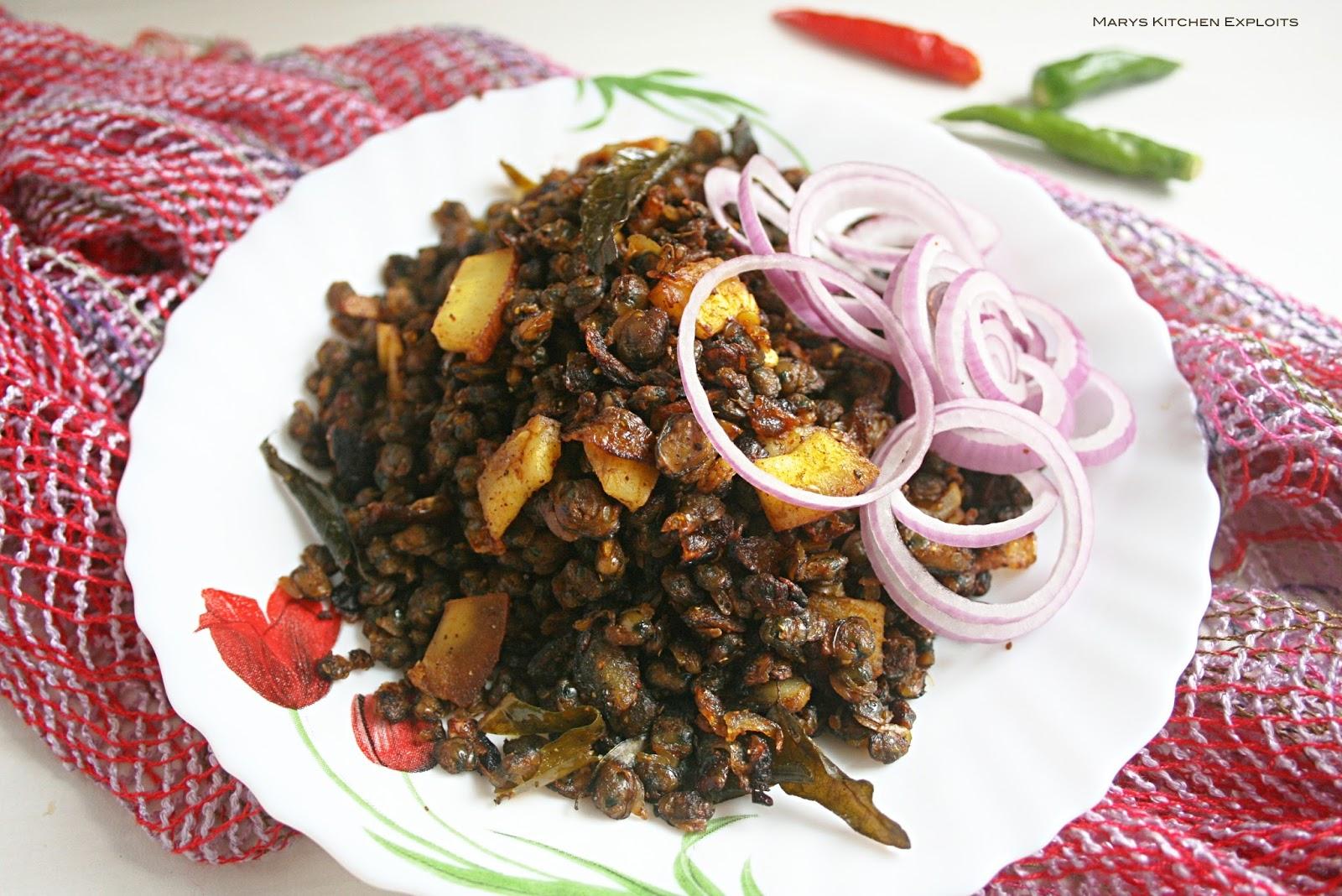 Clam roast kakka eracht roast recipe kerala style flavoured clam roast kakka eracht roast recipe kerala style forumfinder Images