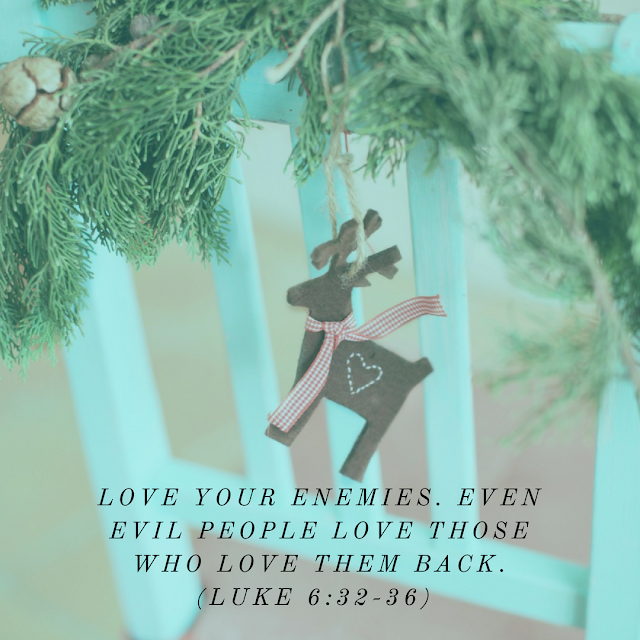 Luke 6 Bible verse about loving your enemies
