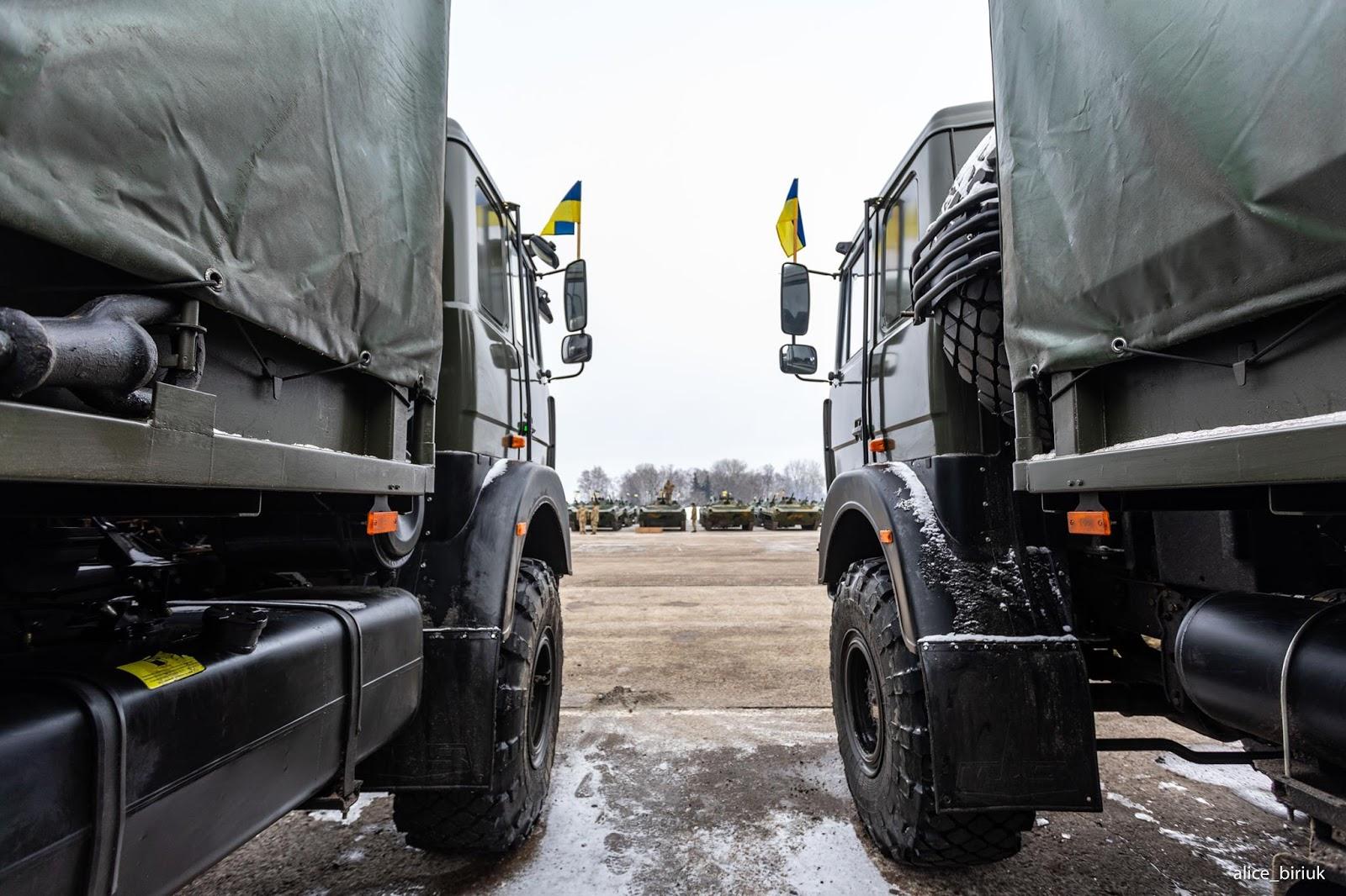 200 вантажівок поставив ЗСУ «Богдан» у 2018 році
