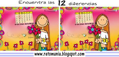 Diferencias entre las imágenes