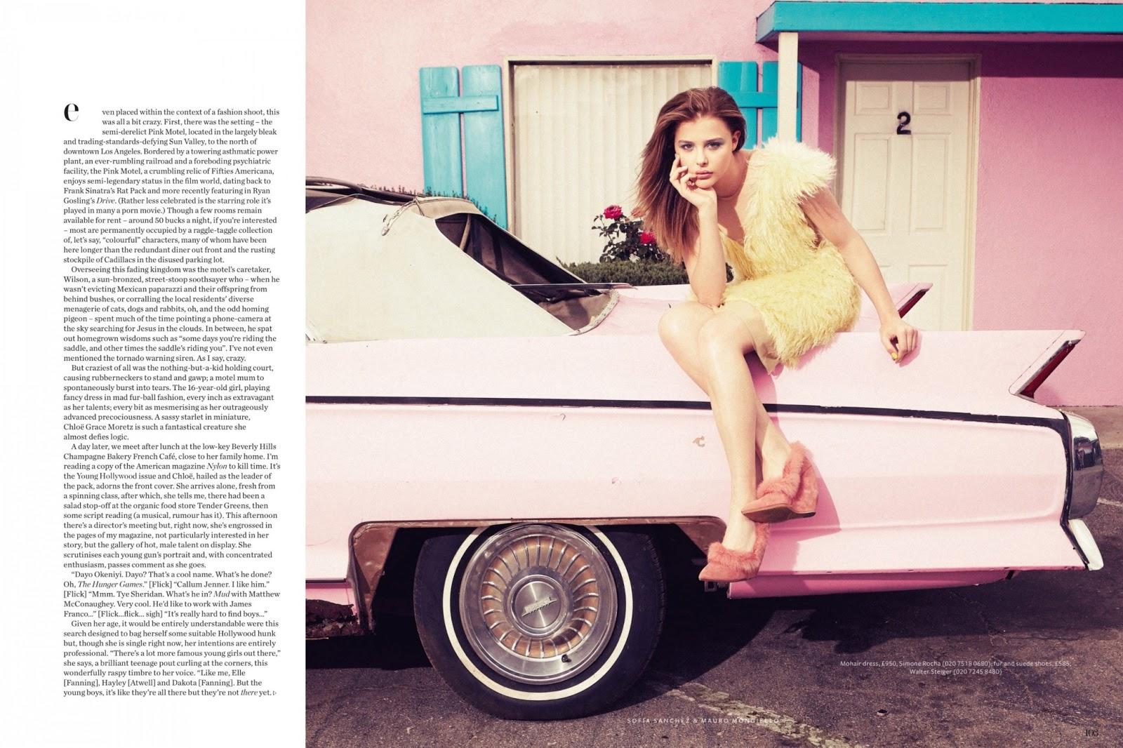 Chloe Grace Moretz - InStyle UK Magazine August 2013 ...