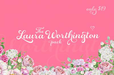 https://thehungryjpeg.com/bundle/24486-the-laura-worthington-pack/