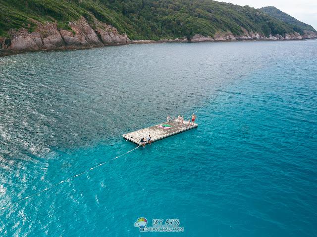 Aerial view of Pulau Redang Island - The Taaras Beach & Spa Resort