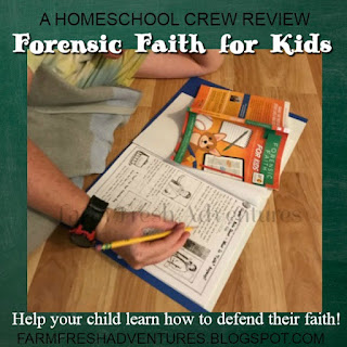 Forensic Faith for Kids~ A Review