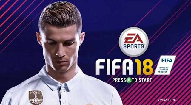 PES 2017 Startscreen versi FIFA 2018 dari Ahmed