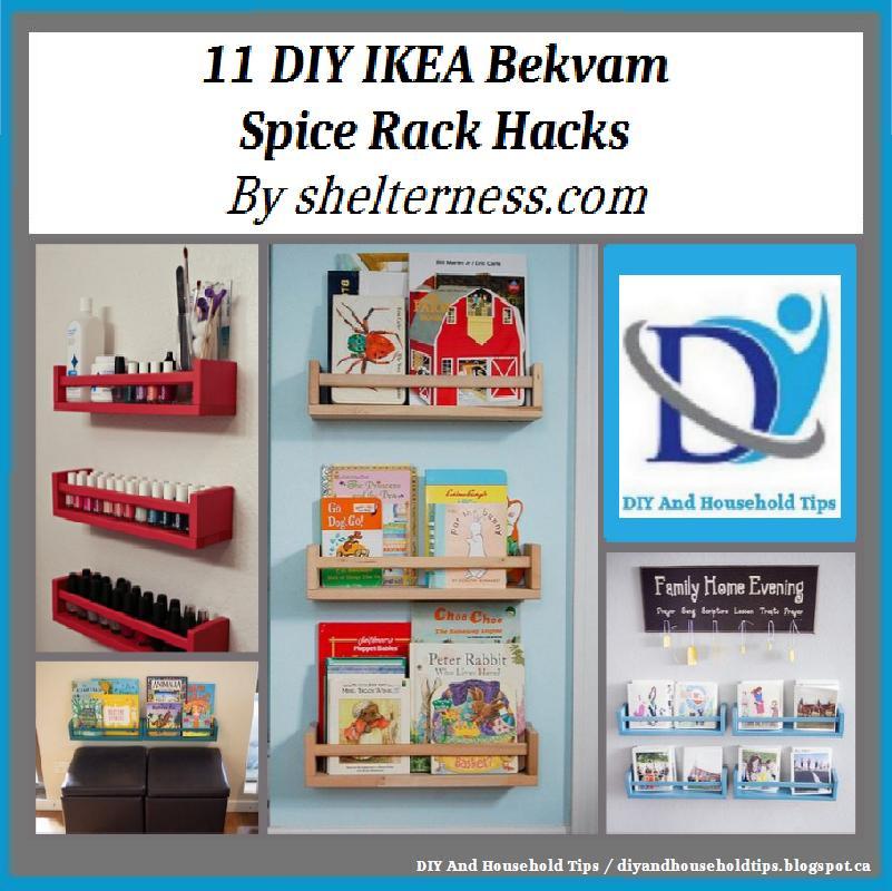 Ikea Bekvam Spice Rack Hack: DIY And Household Tips: 11 DIY IKEA Bekvam Spice Rack Hacks