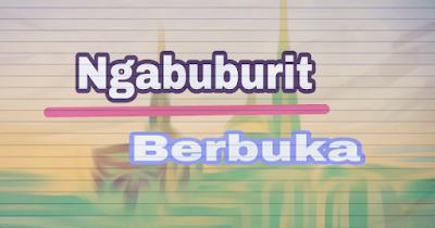 Tips Ngabuburit Asyik Dan Bermanfaat Saat Puasa