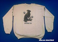 chocolate lab sweatshirt