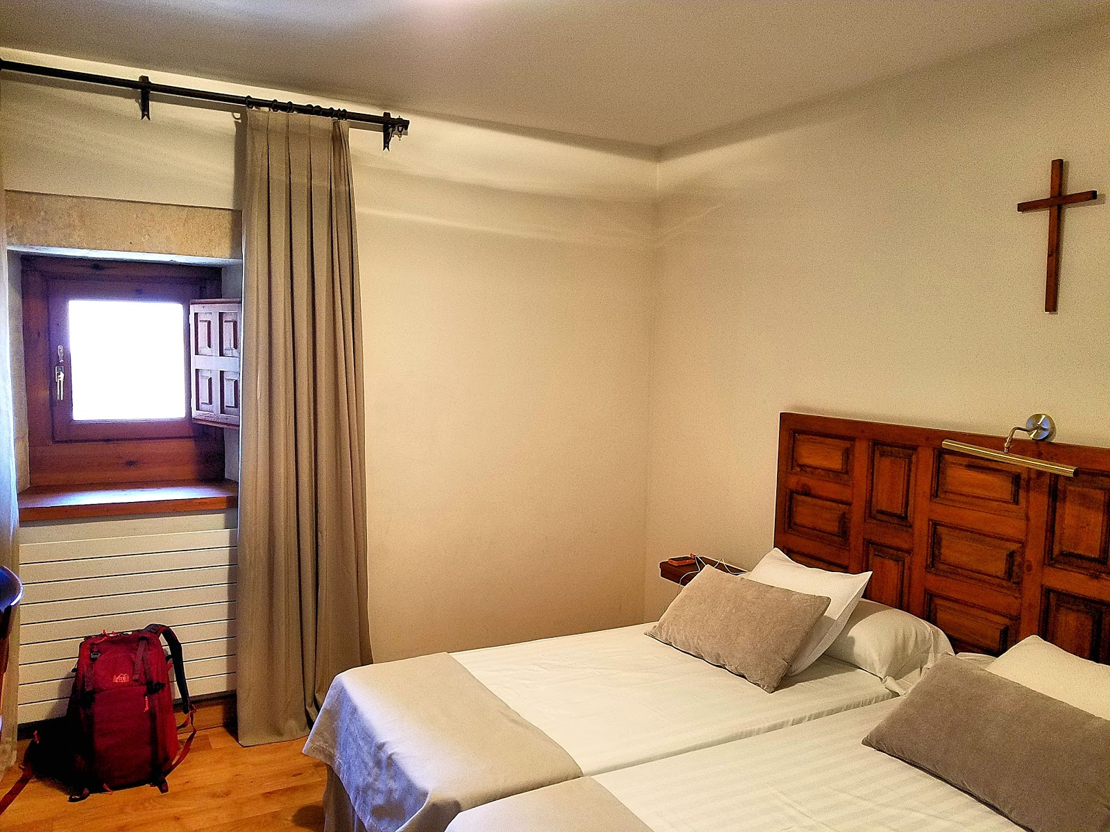 My humble room at the monastery was simple in its appointments but for that one special night, I was transported back to the life of an 11th-century monk, and slept as soundly and peacefully.