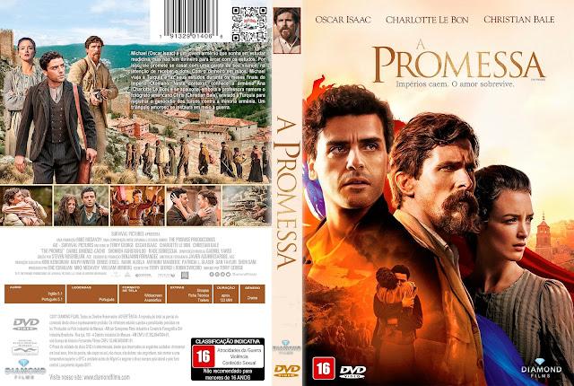 Capa DVD A Promessa [Custom]