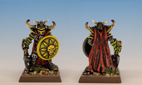 Talisman Warrior of Chaos, Citadel Miniatures (sculpted by Aly Morrison, 1986)