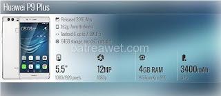 26. Huawei P9 Plus