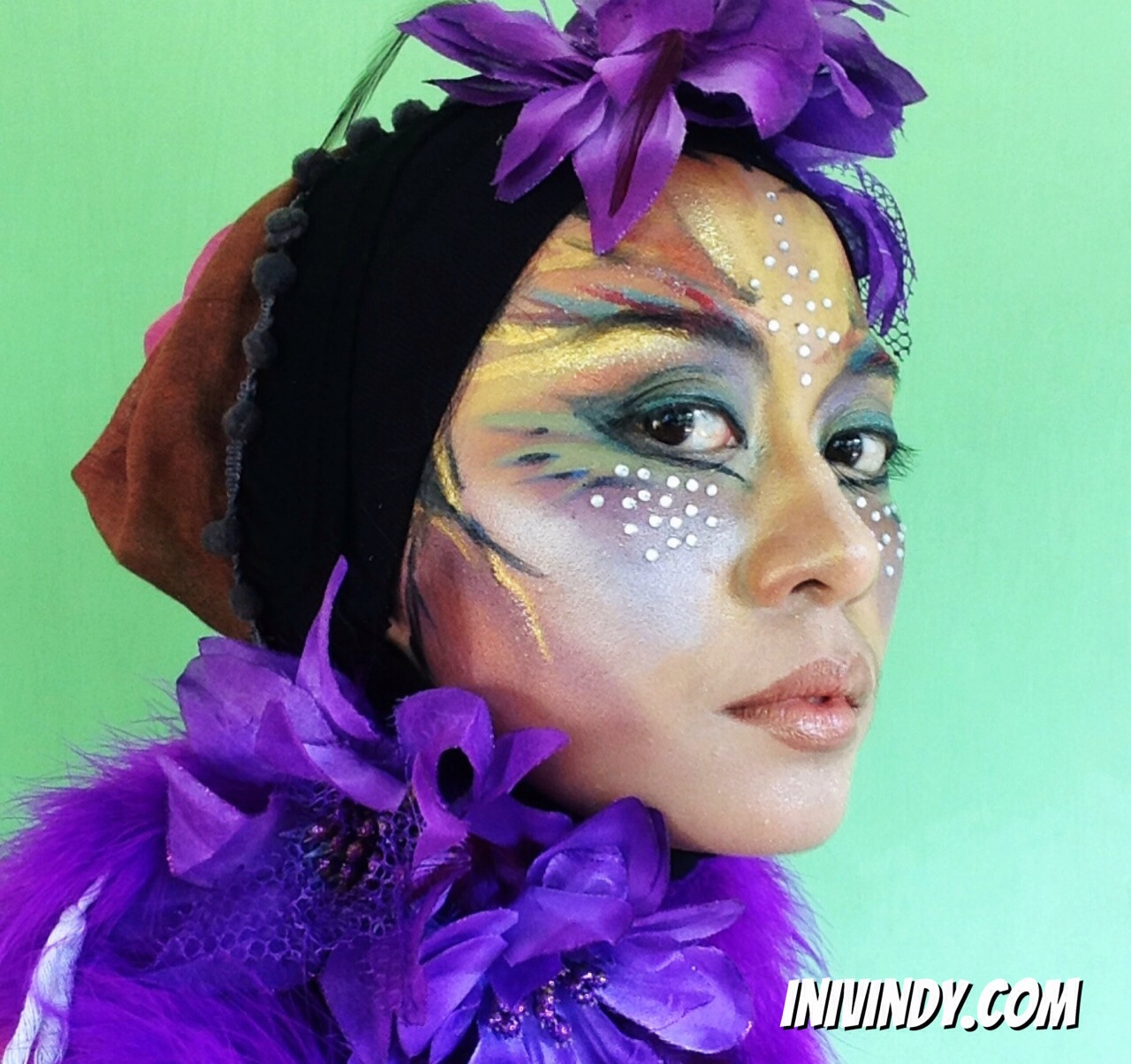 Ini Vindy Yang Ajaib Mother Earth Fairy Make Up Inspired